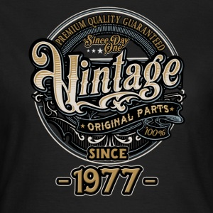 Day One Vintage since 1977 - Original Parts RAHMENLOS Birthday T-Shirts - Frauen T-Shirt