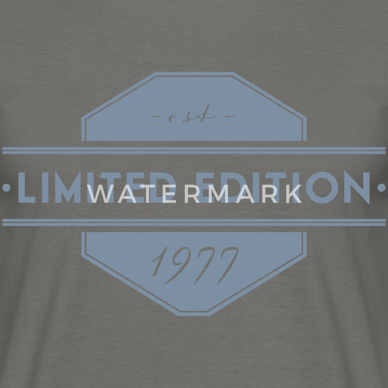 Limited Edition est. 1977 - Männer T-Shirt