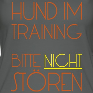 Training Hund - Frauen Bio Tank Top