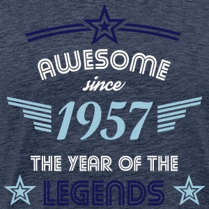 Awesome since 1957 T-Shirts - Männer Premium T-Shirt