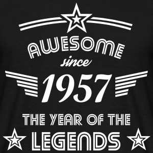 Awesome since 1957 T-Shirts - Männer T-Shirt