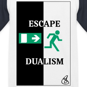 Escape Dualism - Kinder Baseball T-Shirt