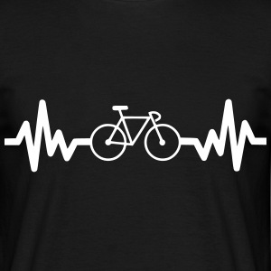 Bike is life  - T-shirt herr