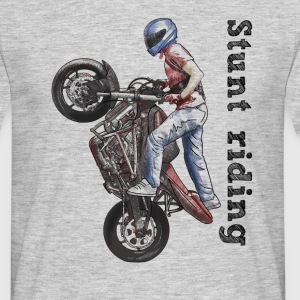 Stunt riding T-shirts - T-shirt herr
