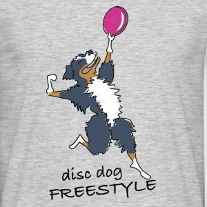disc dog freestyle T-shirts - T-shirt herr