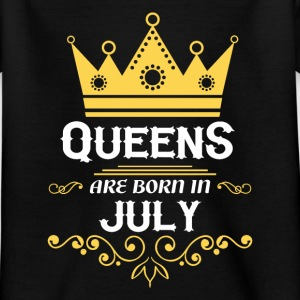 Queens are born in July Shirts - Kids' T-Shirt