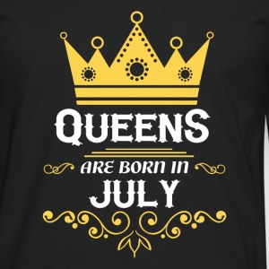 Queens are born in July Long sleeve shirts - Men's Premium Longsleeve Shirt
