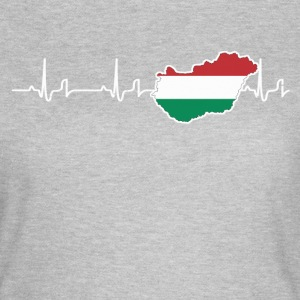 Heartbeat - Ungarn T-Shirts - Frauen T-Shirt