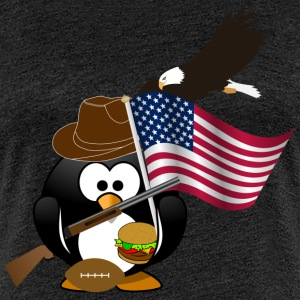 USA Pinguin T-Shirts - Frauen Premium T-Shirt