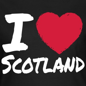 I Love Scotland T-Shirts - Frauen T-Shirt