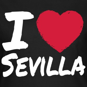 I Love Sevilla T-Shirts - Frauen T-Shirt