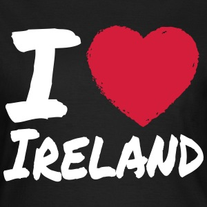 I Love Ireland T-Shirts - Frauen T-Shirt