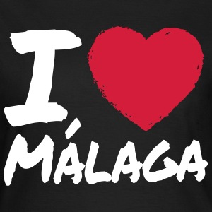 I Love Málaga T-Shirts - Frauen T-Shirt