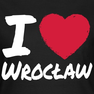 I Love Wroclaw T-Shirts - Frauen T-Shirt