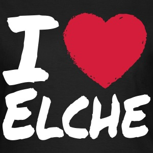 I Love Elche T-Shirts - Frauen T-Shirt