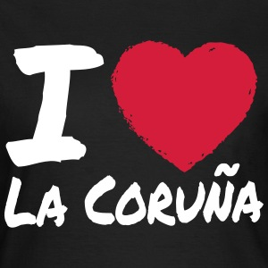 I Love La Coruna T-Shirts - Frauen T-Shirt