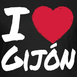 I Love Gijón T-Shirts - Frauen T-Shirt
