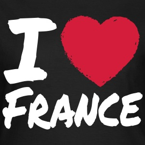I Love France T-Shirts - Frauen T-Shirt