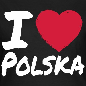 I Love Polska T-Shirts - Frauen T-Shirt