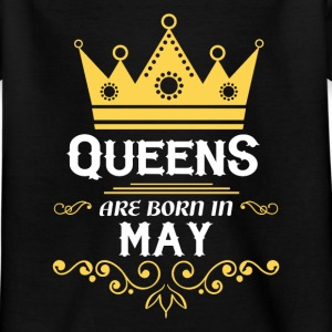 Queens are born in may Shirts - Kids' T-Shirt