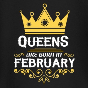 Queens are born in February Baby Long Sleeve Shirts - Baby Long Sleeve T-Shirt