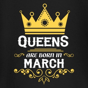 Queens are born in March Baby Long Sleeve Shirts - Baby Long Sleeve T-Shirt