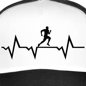 Running Man & Heartbeat Kasketter & huer - Trucker Cap