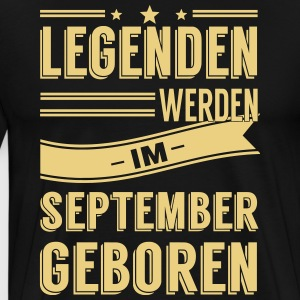 September Legenden - Männer Premium T-Shirt