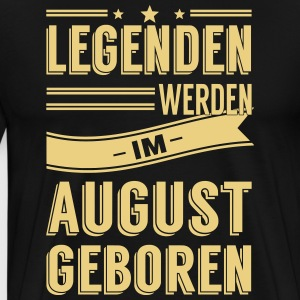 August Legenden - Männer Premium T-Shirt