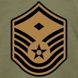 Master Sergeant MSgt First Sergeant, Air Force T-shirts - Slim Fit T-shirt herr