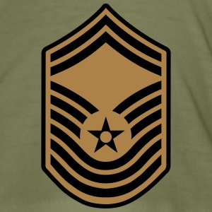 Chief Master Sergeant CMSgt, Air Force T-Shirts - Men's Slim Fit T-Shirt