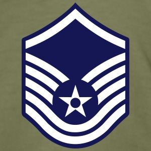Master Sergeant MSgt, Mision Militar ™ T-shirts - Slim Fit T-shirt herr