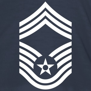Chief Master Sergeant CMSgt, US Air Force Tee shirts - Tee shirt près du corps Homme