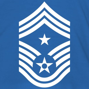 Command Chief Master Sergeant CCM, US Air Force Camisetas - Camiseta ajustada hombre