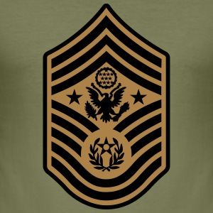 Chief Master Sergeant of the Air Force CMSAF T-skjorter - Slim Fit T-skjorte for menn