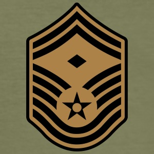 Senior Master Sergeant SMSgt First Sergeant T-shirts - slim fit T-shirt