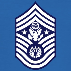 Chief Master Sergeant of the Air Force CMSAF Magliette - Maglietta aderente da uomo