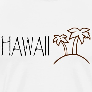 HAWAII - SIMPLE - Männer Premium T-Shirt