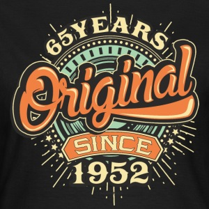 65 Years Original since 1952 - RAHMENLOS Birthday Shirt Design T-Shirts - Frauen T-Shirt