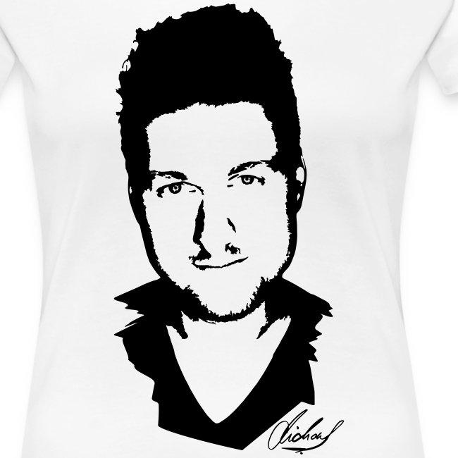 MF T-Shirt PREMIUM Women - logo/schwarz