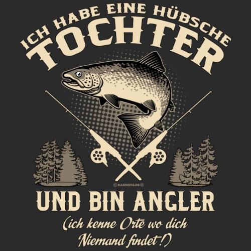 Tochter Angler - Geburtstags Geschenk - RAHMENLOS