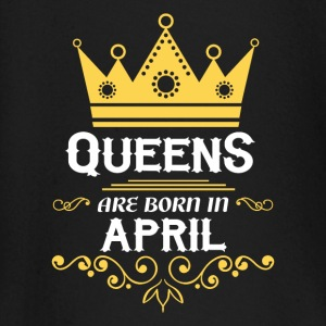 Queens are born in April Baby Long Sleeve Shirts - Baby Long Sleeve T-Shirt
