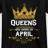 Queens are born in April Shirts - Kids' T-Shirt