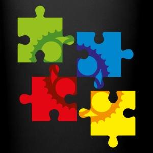 puzzle einfarbig