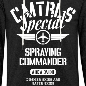 CMTRLS Special - Spraying Commander - Light Unisex Sweatshirt Hoodie