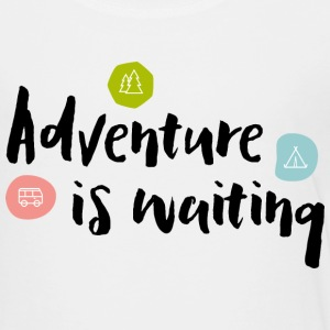 Adventure Is Waiting - Kinder Premium T-Shirt