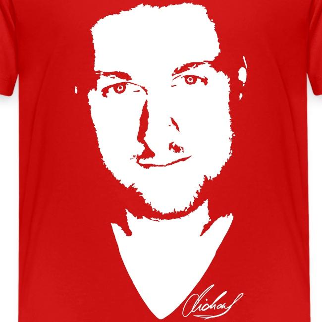 MF T-Shirt STANDARD Jugend - logo/weiss