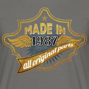 Made in 1987 - Men's T-Shirt