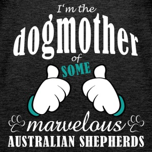 Dogmother, some Aussies Tops - Women's Premium Tank Top