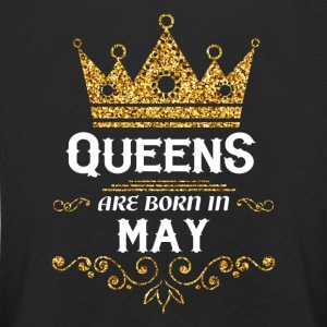 Queens are born in may Long Sleeve Shirts - Kids' Premium Longsleeve Shirt